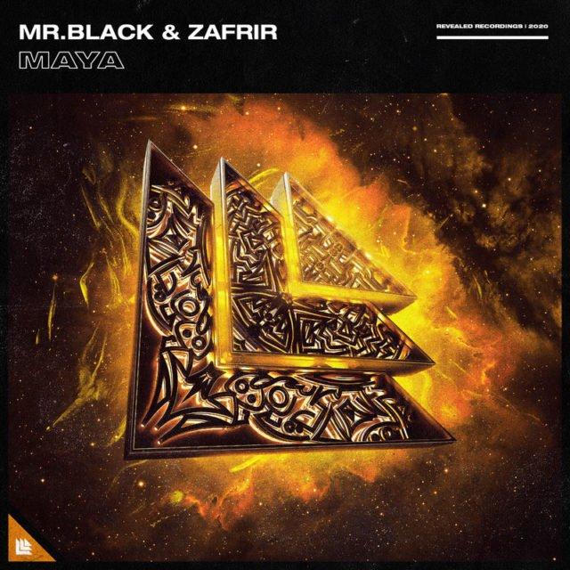 Mr.Black, Zafrir - Maya Cover Photo