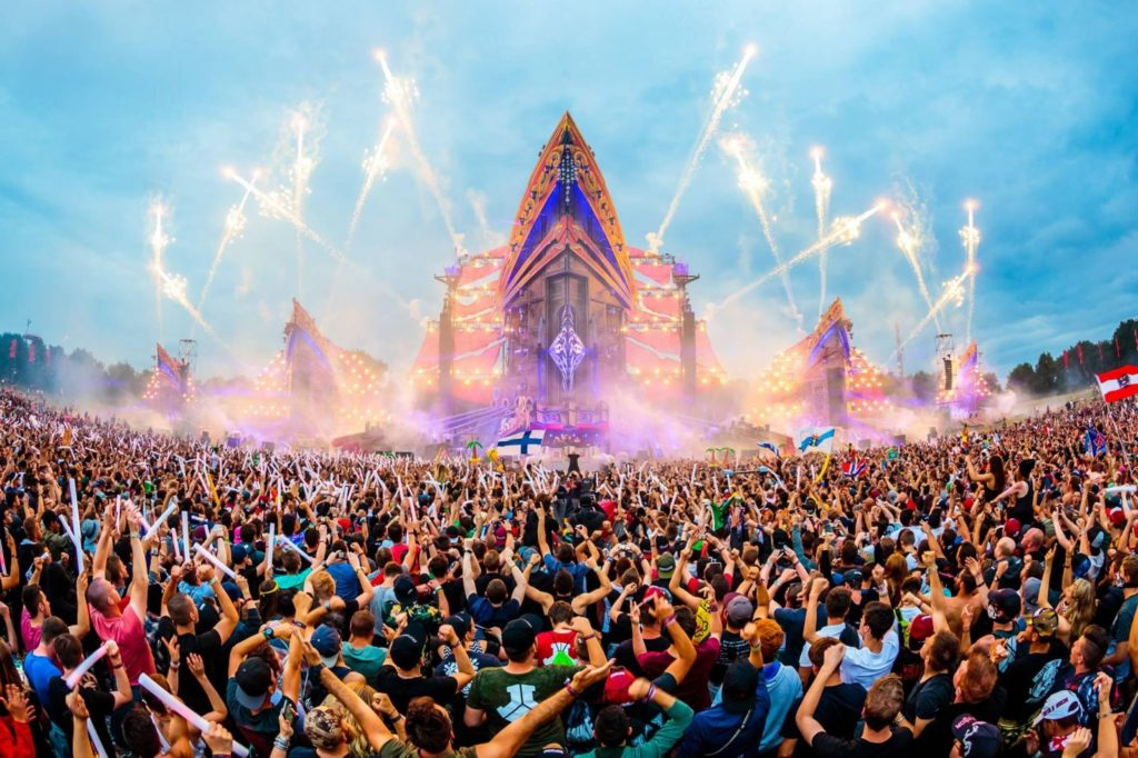 defqon 2017 1024x682 - Our Top 3 Of The Most Crazy Festival Stages In History