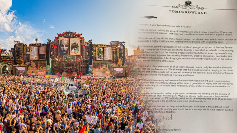 Tomorrowland Live 990x556 - Tomorrowland Belgium 2020 Festival has been canceled